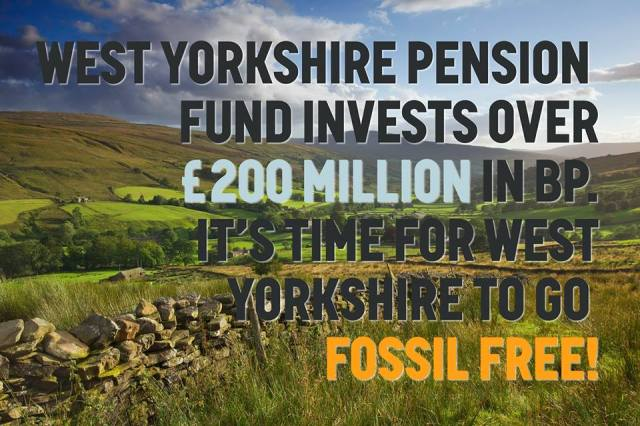 Fossil Free West Yorkshire Pension Fund