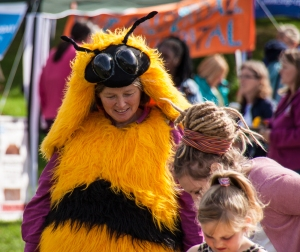 Giant bee at Planet festiva
