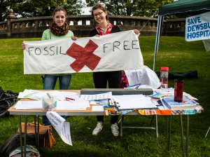 Fossil Free campaigners Students for Sustainability