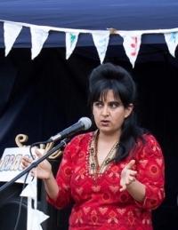 Kiran Bali - Spiritual Ambassador for Our Voices - the global faith & spiritual climate action network