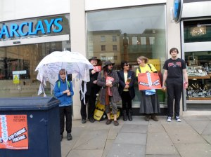 Barclays stop funding fracking