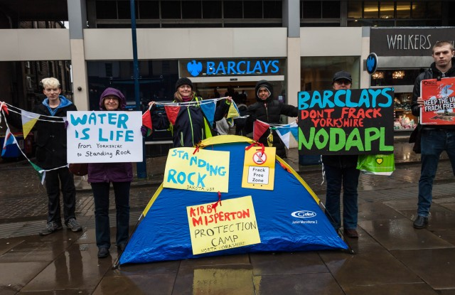 Barclays: Don't Frack Yorkshire + No DAPL