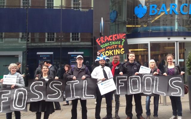 Fossil Fools Barclays