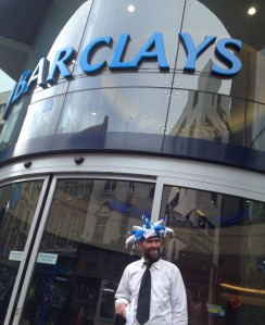 Jester outside barclays