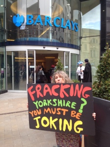 Fracking Yorkshire - you must be joking