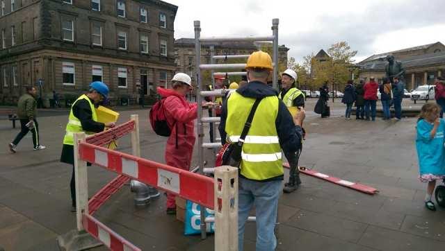 Fracking site Huddersfield 2